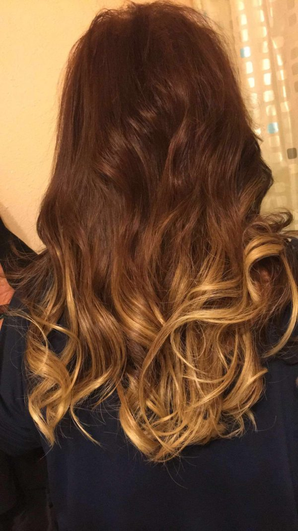 Ombre I-tip Hair Extensions